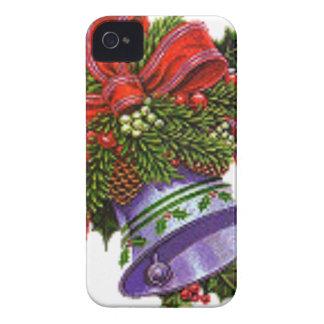 Weihnachten silberne Bell iPhone 4 Hülle