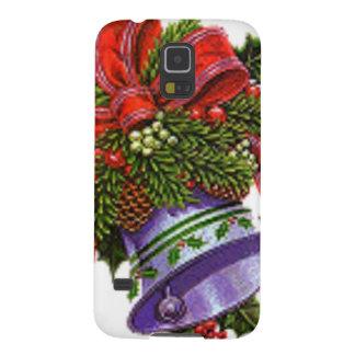 Weihnachten silberne Bell Samsung S5 Hüllen