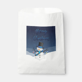 Weihnachten Snowy Geschenktütchen