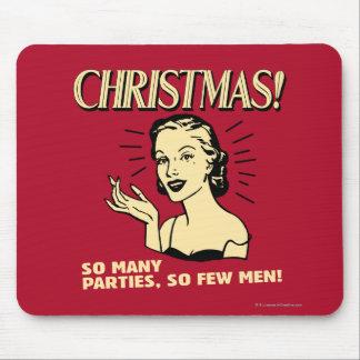 Weihnachten: So viele Partys, so wenige Männer Mousepad