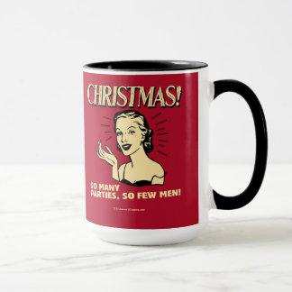Weihnachten: So viele Partys, so wenige Männer Tasse