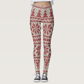 Weihnachten traditionell leggings