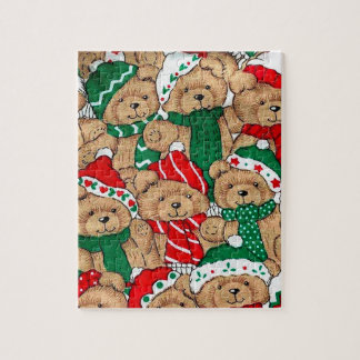 Weihnachten trägt Puzzlespiel Puzzle