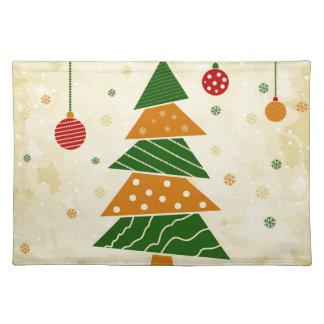Weihnachten tree5 tischset