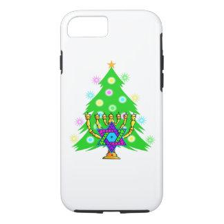 Weihnachten und Chanukka iPhone 8/7 Hülle