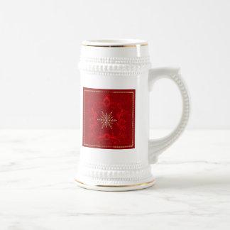 Weihnachten und Feiertag Bierglas