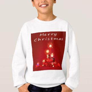 Weihnachten und Kerzen Sweatshirt