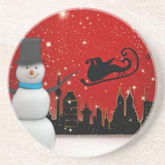 Weihnachten Getränkeuntersetzer