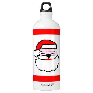 Weihnachten Weihnachtsmann Aluminiumwasserflasche