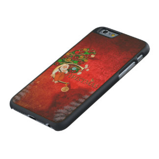 Weihnachten, Weihnachtsmann Carved® iPhone 6 Hülle Ahorn