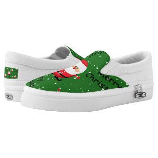 Weihnachten Weihnachtsmann Slip-On Sneaker