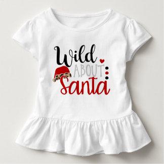 Weihnachten wild über Sankt-Shirt Kleinkind T-shirt