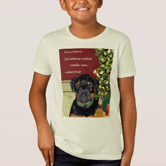 Weihnachten wünscht Kindern Bio T-Stück T-Shirt