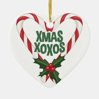 Weihnachten XOXOs Keramik Ornament