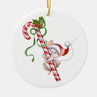 Weihnachtenc$verzierung-sankt Maus Keramik Ornament