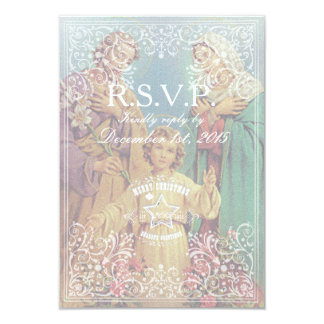 WEIHNACHTENheilige Familie - 8,9 X 12,7 Cm Einladungskarte