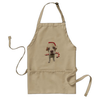 Weihnachtenpitbull - Sankt pitbull - Hund Sankt Schürze