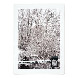 Weihnachts Posten 12,7 X 17,8 Cm Einladungskarte