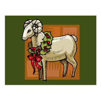 Weihnachts-RAM Postkarte