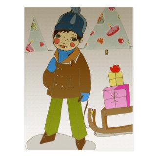*weihnachtsabend* postkarten