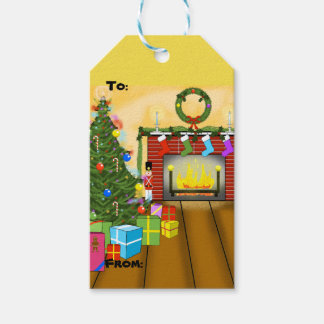 Weihnachtsabends-Weihnachtsgeschenk-Umbauten Geschenkanhänger