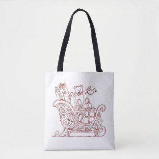 Weihnachtsabends-WeihnachtsTaschen-Tasche Tasche