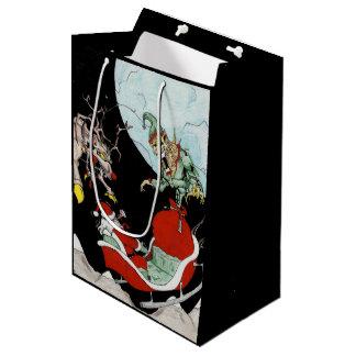 Weihnachtsalptraum kundenspezifische mittlere geschenktüte