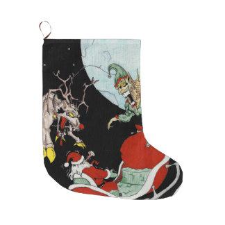 Weihnachtsalptraum kundenspezifischer großer weihnachtsstrumpf