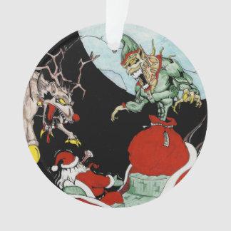 Weihnachtsalptraumkreis-Baum Verzierung Ornament