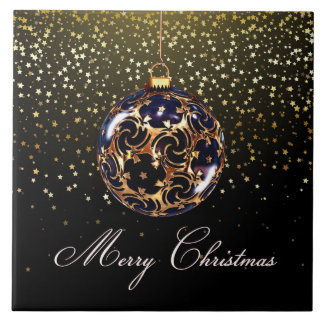 Weihnachtsart Keramikfliese