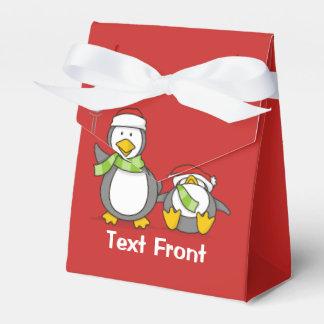Weihnachtsausweitende Pinguine Geschenkschachtel