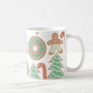 Weihnachtsbacken-Druck Kaffeetasse