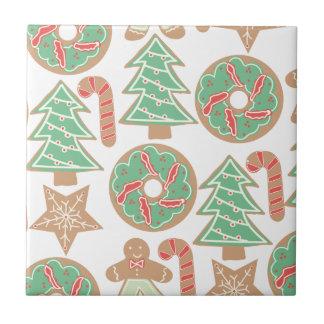 Weihnachtsbacken-Druck Keramikfliese