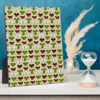 Weihnachtsbänder u. -bögen fotoplatte