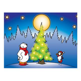 Weihnachtsbären Postkarte