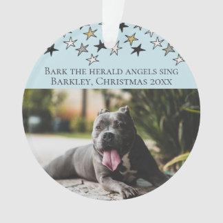 Weihnachtsbarken-The Herald -Engel singen Hund Ornament