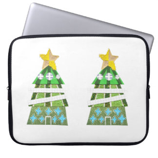 Weihnachtsbaum 15 Zoll Laptop-Hülsen- Laptop Sleeve
