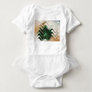 Weihnachtsbaum abstrakt baby strampler