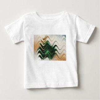 Weihnachtsbaum abstrakt baby t-shirt