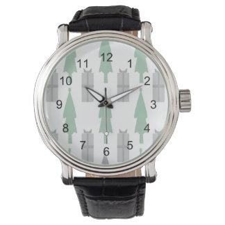Weihnachtsbaum Armbanduhr