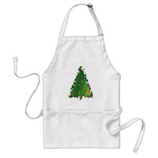 Weihnachtsbaum-Dekoration Schürze