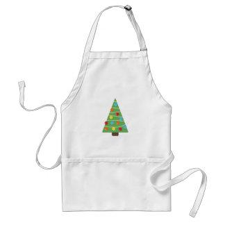 Weihnachtsbaum-Dekorations-Schürze