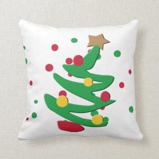 Weihnachtsbaum-dekoratives Weihnachtskissen Kissen