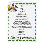 Weihnachtsbaum der binären Aussenseiter Karten