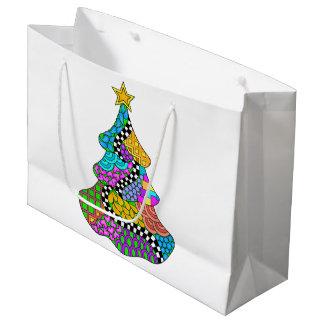 Weihnachtsbaum-Drehung Große Geschenktüte