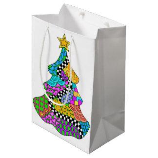 Weihnachtsbaum-Drehung Mittlere Geschenktüte