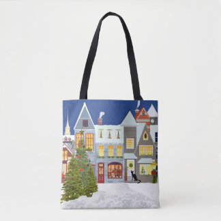 Weihnachtsbaum-EinkaufsTaschen-Tasche Tasche