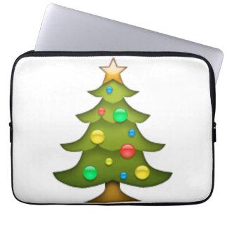 Weihnachtsbaum - Emoji Laptop Sleeve