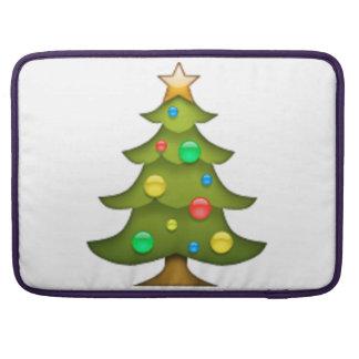 Weihnachtsbaum - Emoji Sleeve Für MacBook Pro
