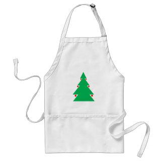 Weihnachtsbaum-Entwurf 8,5 durch 8,5 am 21. Schürze